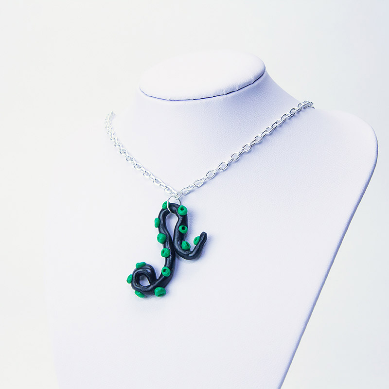 fbc-jewellery-black-green-tentacle-necklace1